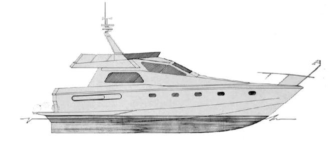 ferretti 46-49 layout
